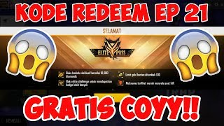 SECRET CODE !! REDEEM ELITE PASS FREE SESSION 21 DIRECTLY FROM GARENA - CLAIM NOW !!