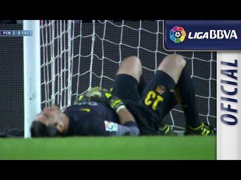 Pinto se estampa contra el palo derecho de portería - سلتيك برشلونة