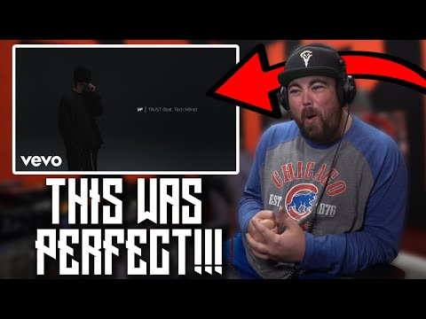 RAPPER REACTS to NF - TRUST (Audio) ft. Tech N9ne