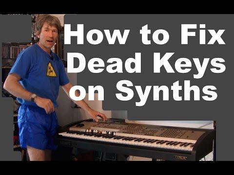 Repairing Dead keys on a keyboard synth or organ MF#77