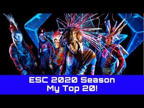 ESC 2020 Season - My Top 20! (25/01/2020)