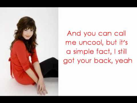 Selena Gomez and Demi Lovato One and The Same Lyrics
