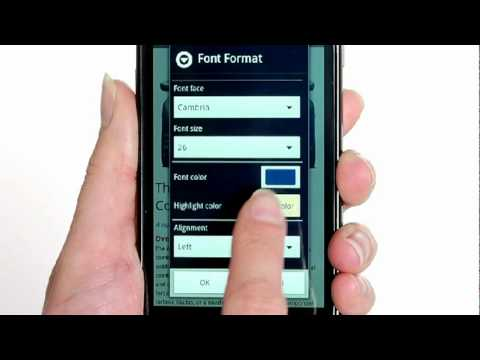 Quickoffice Pro для Android (ОБЗОР НА РУССКОМ ЯЗЫКЕ)