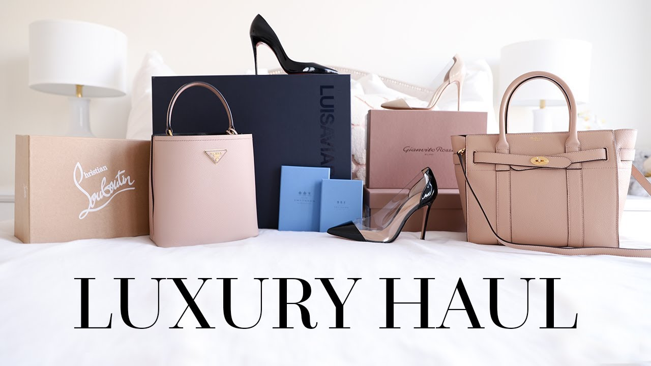 UNBOX WITH ME!   LUXURY UNBOXING FT. PRADA, MULBERRY, CHRISTIAN ... 7dd59c8454