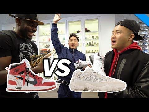 NIKE vs ADIDAS - WHO HAS BETTER SNEAKERS?! (Stadium Goods) | Fung Bros