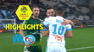 Olympique de Marseille - RC Strasbourg Alsace (2-0) - Highlights - (OM - RCSA) / 2017-18