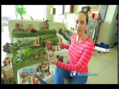 Como hacer un nacimiento en casa ideal youtube - Cosas de navidad para hacer en casa ...