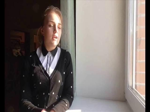 Изображение предпросмотра прочтения – АнгелинаКоролева читает произведение «Послушайте! (Послушайте! Ведь, если звезды зажигают…)» В.В.Маяковского