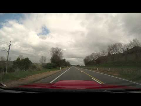 GoPro Driving Time-lapse. Central Plateau, New Zealand.
