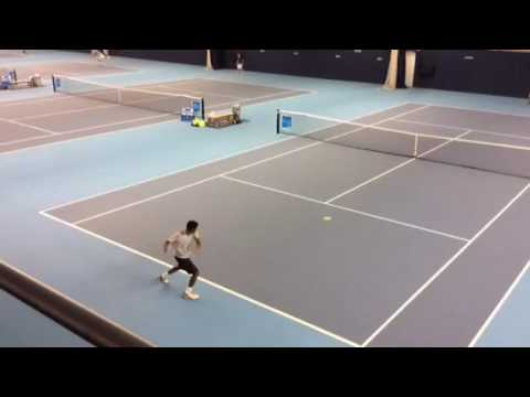 British Tour Fast4 at the NATIONAL TENNIS CENTRE