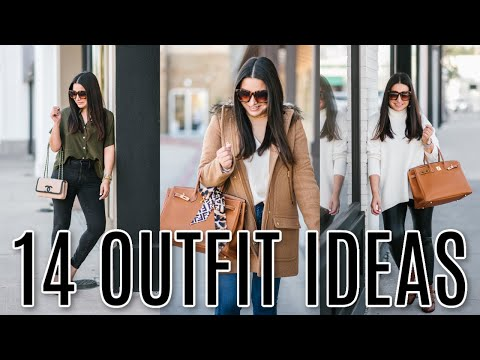 WHAT I WORE - 14 Outfit Ideas | LuxMommy