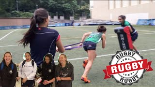 GIRLS RUGBY TRAINING (Vlog #12)  *HILARIOUS*