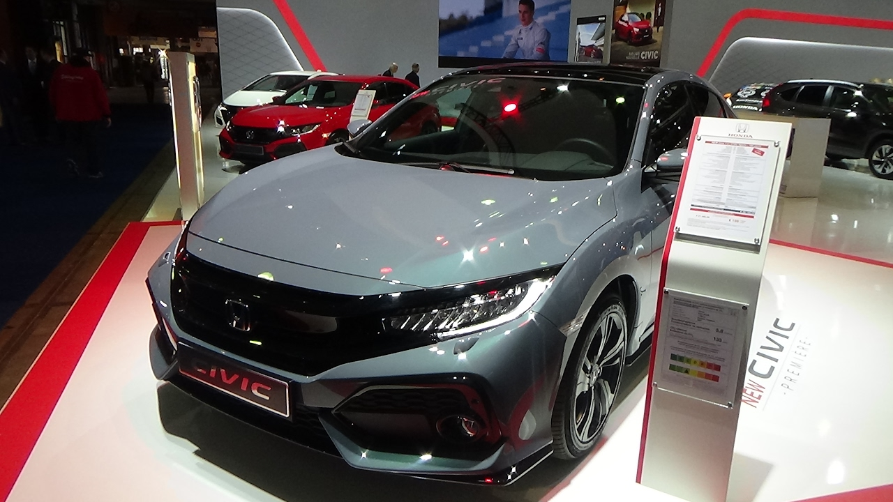 2017 Honda Civic Sport Exterior And Interior Auto Show Brussels