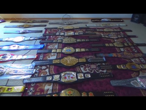 WWE REPLICA BELTS COLLECTION (August 2016 UPDATE) | ♥MISC♥