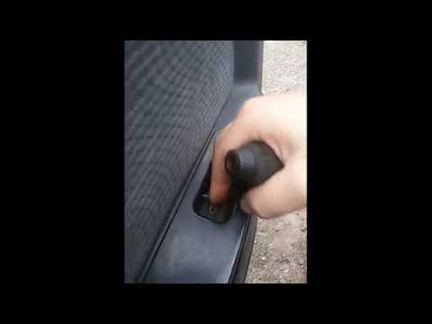 Как снять обшивку передней двери на дэу нексия