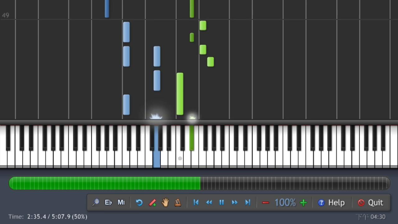 吳青峰 - 起風了 鋼琴版 Cover [ 附琴譜與 MIDI ] - YouTube