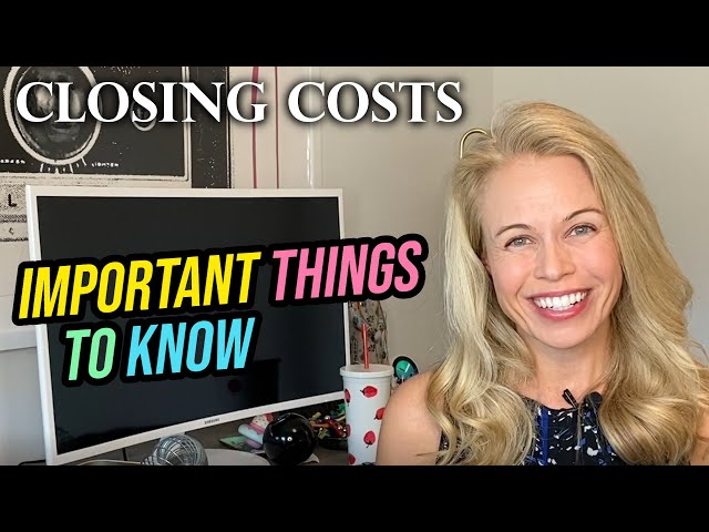 Get Away From Housing Closing Costs! Tips For First Time Home Buyer Mistakes With Jennifer Beeston