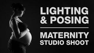 LIGHTING & POSING | Maternity Shoot in the Studio