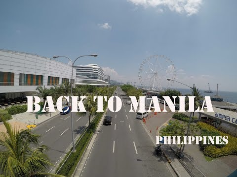 Life In Abroad Vlog #18 Back to Manila (HD) Philippines 2017