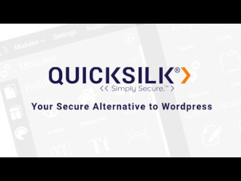 QuickSilk Explainer Video: Your Secure Alternative to WordPress