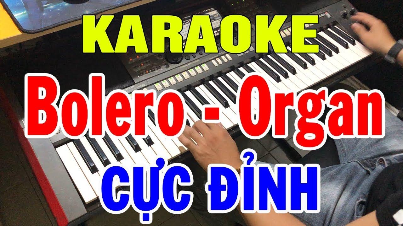 Karaoke Nhạc Sống Đàn Organ Đặc Biệt | Liên khúc Bolero – Hòa Tấu Rất Hay | Trọng Hiếu