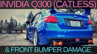 homepage tile video photo for INVIDIA Q300 EXHAUST   I F*** UP MY BUMPER   BRZ SERIES YELLOW...