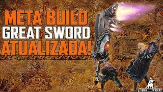 Monster Hunter World - NOVA BUILD DO META DE GREAT SWORD - ATUALIZADA!