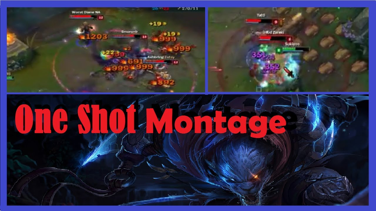 How to remove the montage
