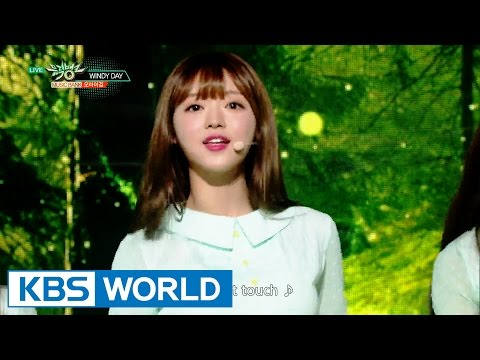 OH MY GIRL (오마이걸) - WINDY DAY [Music Bank / 2016.06.03]