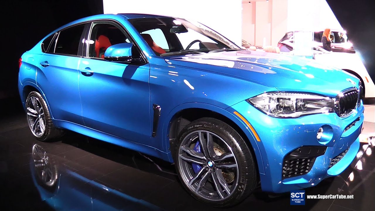2015 Bmw X6 M Xdrive Exterior And Interior Walkaround