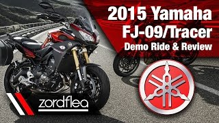 2015 yamaha fj 09 tracer demo ride and review