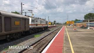 CONTINUOUS HONKING WAP-7 39054 BLINKS : INDIAN RAILWAYS