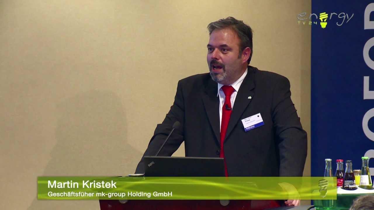 Vortrag Martin Kristek Auf Der Euroforum DACH Konferenz