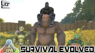 ARK: Survival Evolved - TAMING A GIGANTOPITHECUS! E64 ( Ginganto / Gameplay )