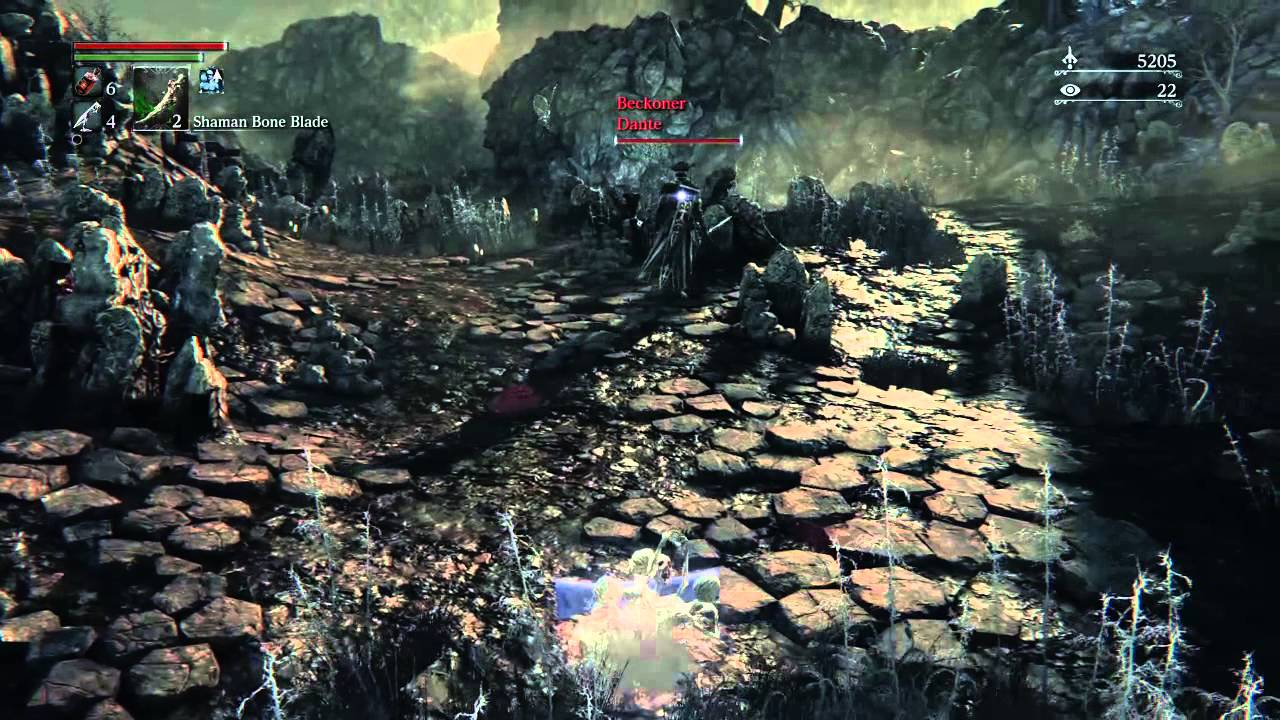 Bloodborne: PvP with Messengers gift Pt.1 - YouTube