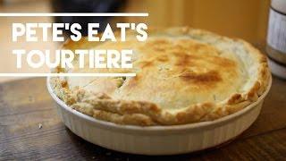 Easy Tourtiere Recipe - Meat Pie