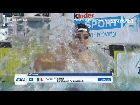 08-04-2017 pom. 200 Rana M Finale A Pizzini Luca 2'09.23 Campionato Italiano Assoluto 2017 v.50