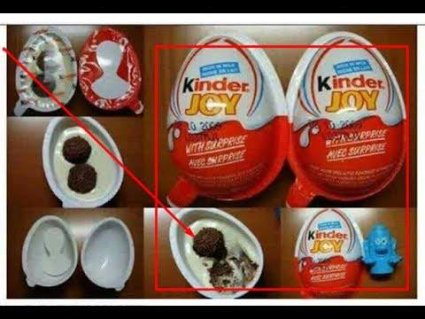 Anda Wajib Tahu !! BAHAYA Makanan Anak Kinder Joy Ternyata Penyebab Kanker