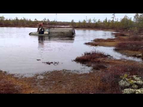 Ford Kuga 2 тест-драйв в лесу