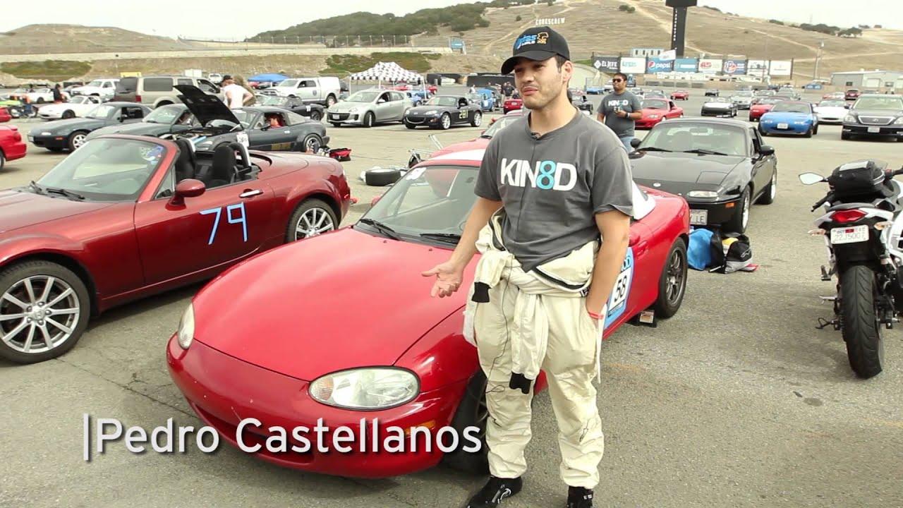 Miatas At Mazda Raceway