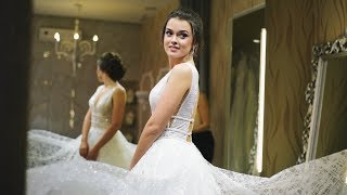 Прическа, мэйкап и выбор свадебного платья -