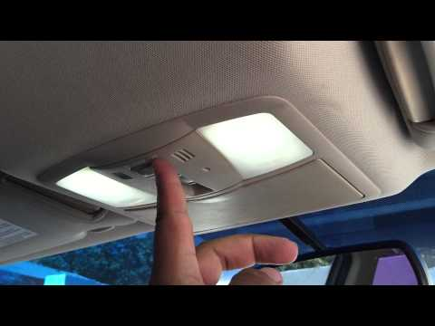 how to change dome lights replaced with led bright white