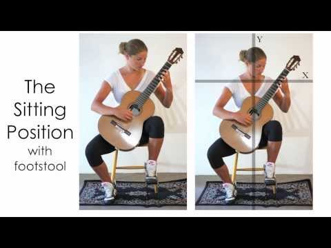 Classical Guitar Lesson: Posture, Technique, and Hand Positions