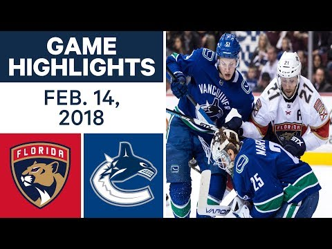 nhl-game-highlights-|-panthers-vs.-canucks---feb.-14,---2018