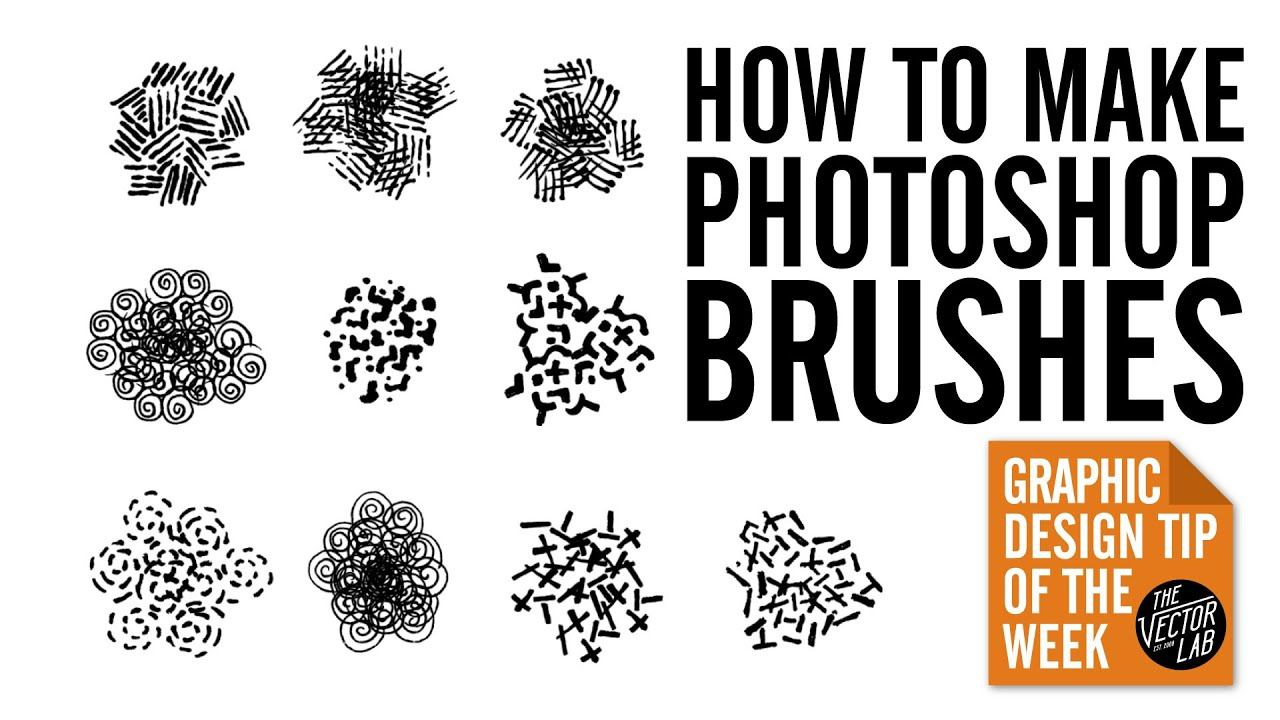 How to Make Photoshop Brushes