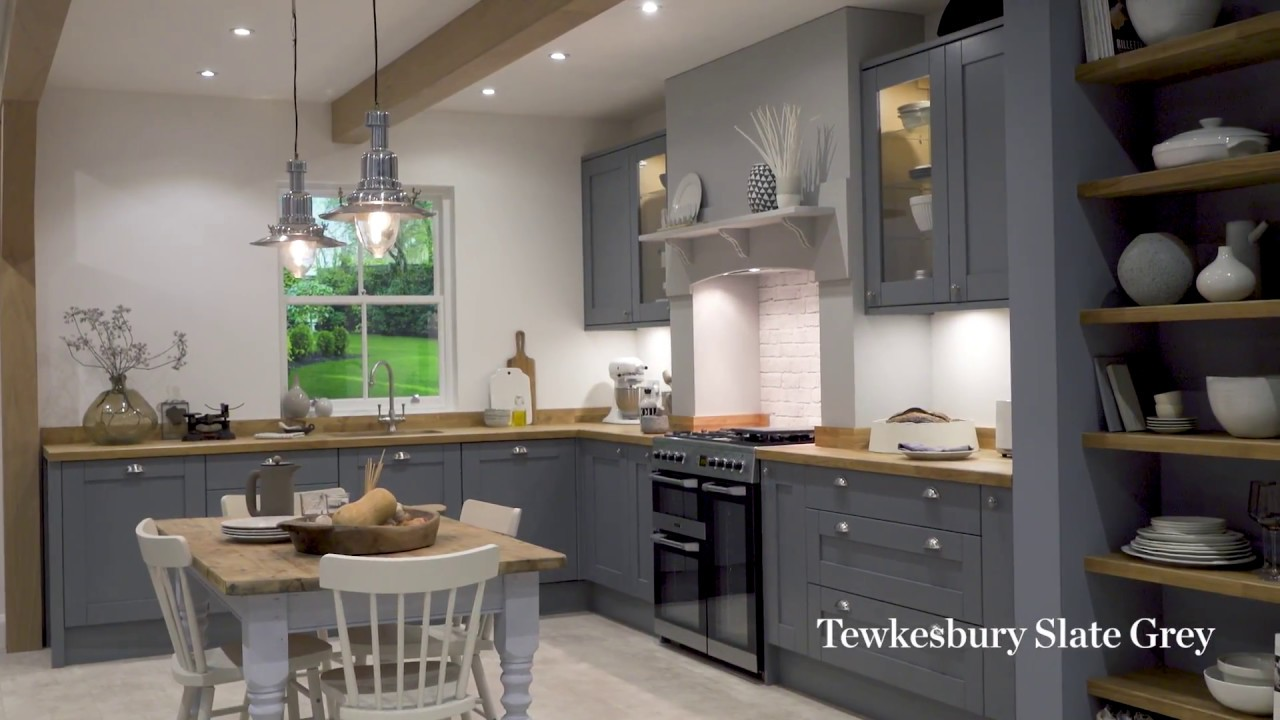 slate grey kitchen cabinets tewkesbury slate grey shaker style kitchen 26205