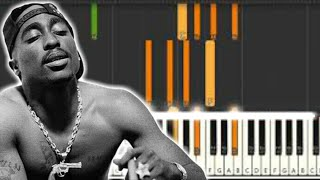 "2pac ""Its All About You"" / Cameo ""Candy"" - Piano Tutorial by Soulphonic"