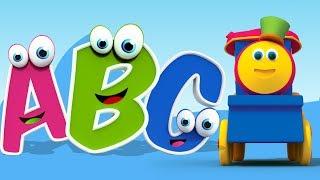 ボブは、英語のアルファベット、数字、形、色、そして楽しい活動を子供...