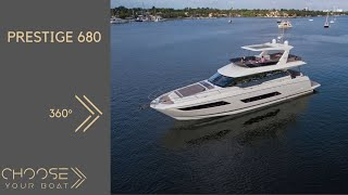 360° video on PRESTIGE 680 : and Immersive Video by Prestige Yachts
