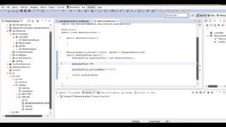 Java spring framework: Начало работы spring mvc, урок 3